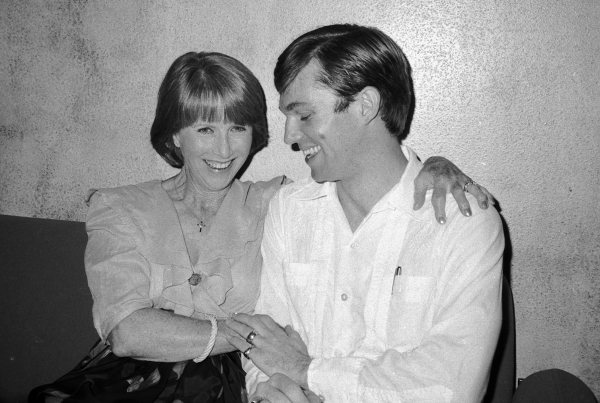 Julie Harris and Richard Thomas