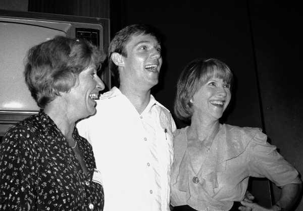 Nancy Marchand, Richard Thomas and Julie Harris