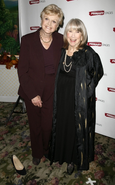 Angela Lansbury and Julie Harris