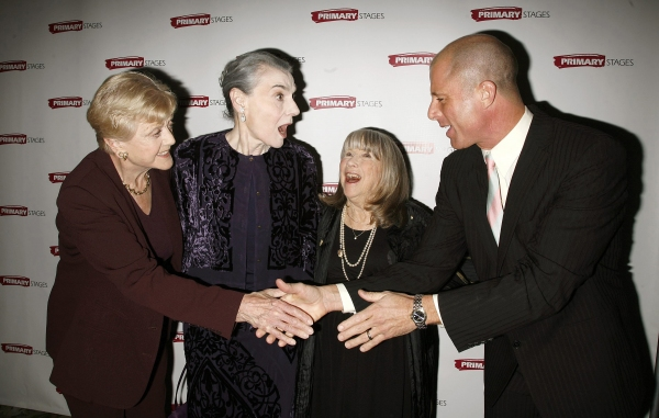 Angela Lansbury, Marian Seldes, Julie Harris with Maxwell Caufield
