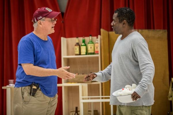 Francis Guinan (Tex) and Cleavant Derricks (Sylvester Sykes)