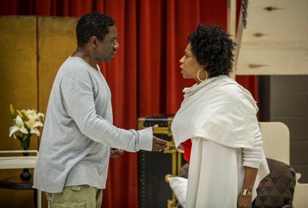 Cleavant Derricks(Sylvester Sykes) and E. Faye Butler (Sister Juba)