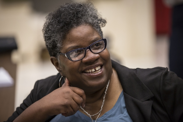 Playwright Cheryl L. West