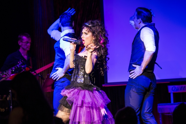 Ian Liberto, Lesli Margherita and Stephen Carrasco
