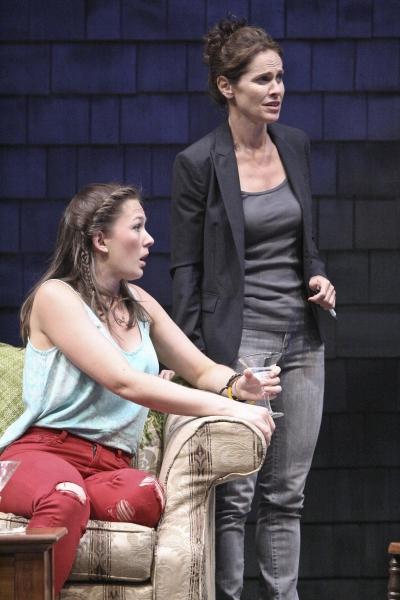 Virginia Kull and Amy Brenneman Photo