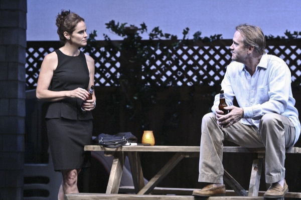 Amy Brenneman and Lee Tergesen