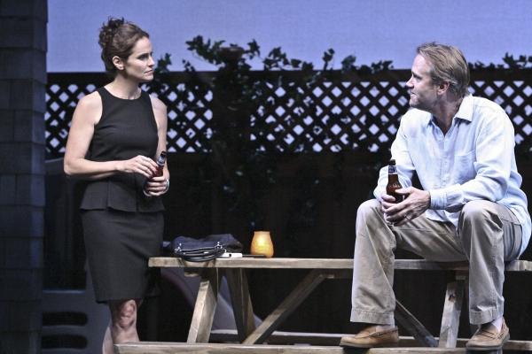 Amy Brenneman and Lee Tergesen