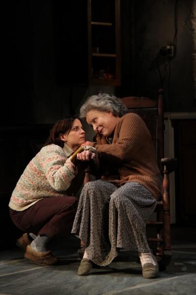 Kimberly Gilbert (Maureen Folan) and Sarah Marshall (Mag Folan)