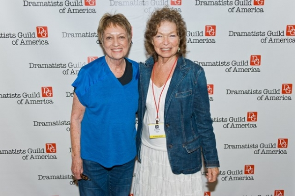 Carol Hall, Gretchen Cryer (President of the Dramatists Guild Fund)