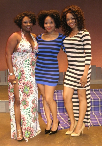 Donica Lynn, Crystal Corinne Wood, Ninah Snipes Photo