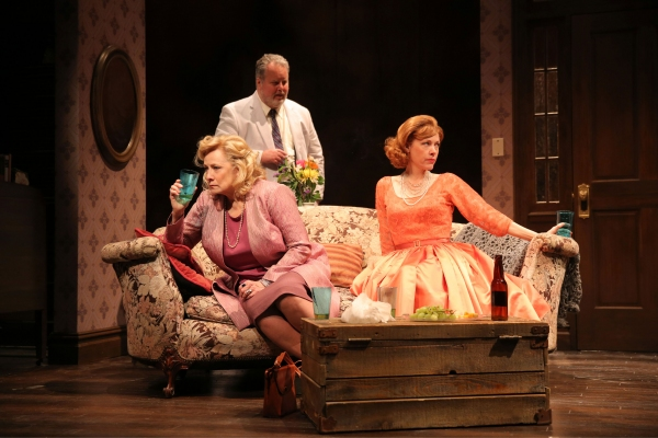 Betty Buckley (Gertrude Hayhurst Sylvester Ratliff), Adam LeFevre (Albert Price) and Veanne Cox (Julia Price)