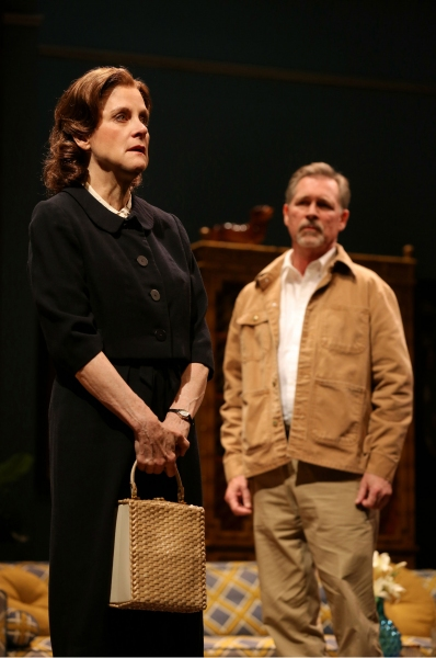 Hallie Foote (Sybil Borden) and Cotter Smith (Howard Ratliff)