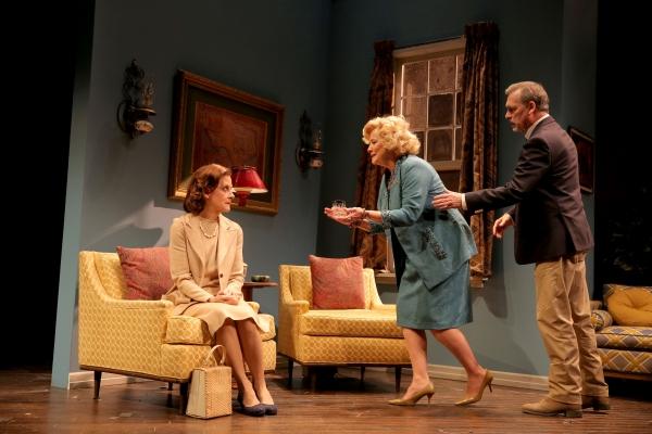 Hallie Foote (Sybil Borden), Betty Buckley (Gertrude Hayhurst Sylvester Ratliff) and Cotter Smith (Howard Ratliff)
