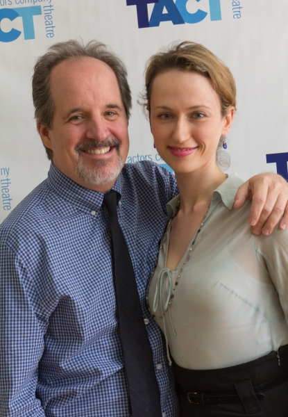 John Pankow and Victoria Mack