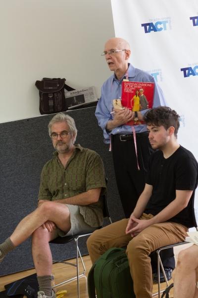 John McDermott (sets), David Toser (costumes) and Jesse Geguzis (Co-Fight Director) Photo