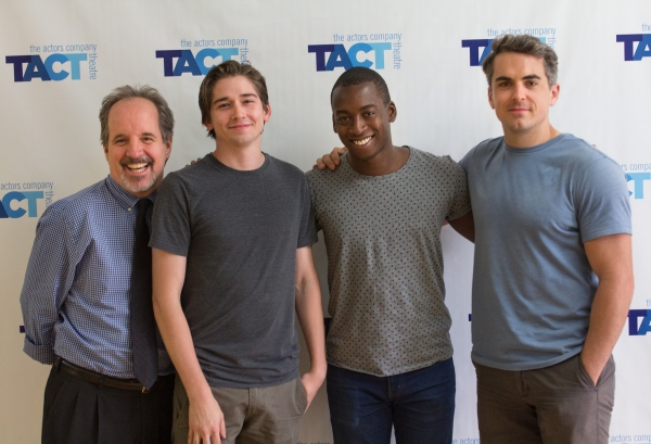 John Pankow, Chris Bert, Tobi Aremu and Alec Beard