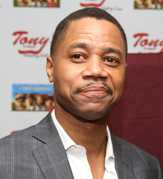 Photo Coverage: Cuba Gooding Jr. Unveils Portrait at Tony Di Napoli's