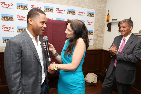 Cuba Gooding Jr., Valerie Smaldone and Bruce Dimpflmaier