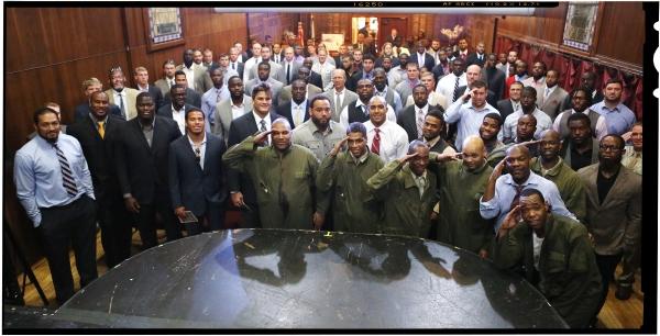FREEZE FRAME: The New York Jets Visit BLACK ANGELS OVER TUSKEGEE