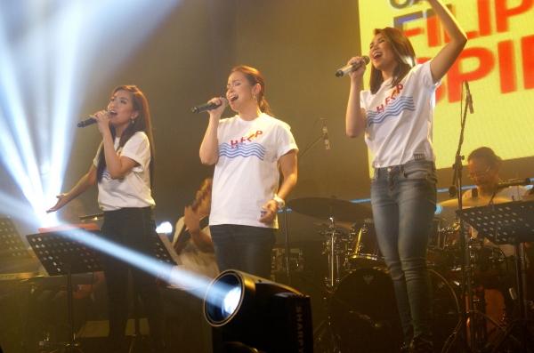 Rachelle Ann Go, Lea Salonga, Sarah Geronimo
