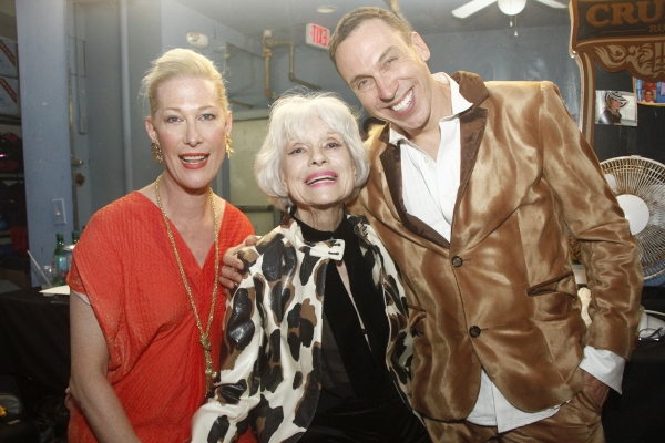 Justin Vivian Bond, Carol Channing and Daniel Nardicio