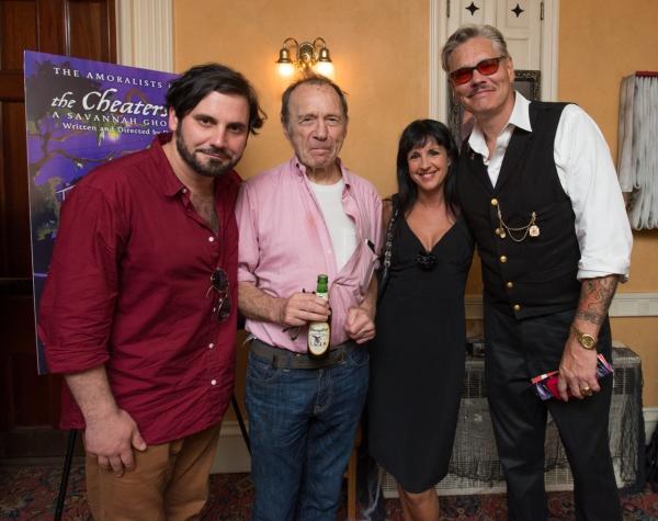 Derek Ahonen, Anthony Haden-Guest, Lorraine Leckie and William Leroy