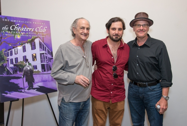 Lyle Kessler, Derek Ahonen and Mark Roberts - The writers of The Amoralists'' 2013 season