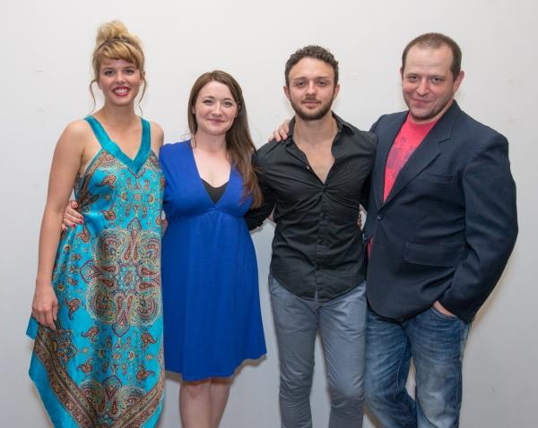 Anna Stromberg, Vanessa Vachop, James Kautz and Wade Dunham Photo