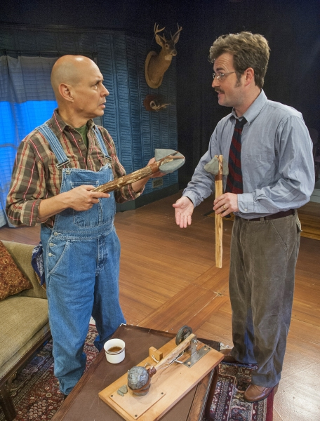 Bill Coughlin as George Willowby and Jason Bowen as Greg Sanderson