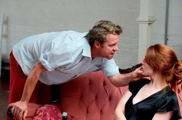 Shane Attwooll (Peter) and Aislinn Sands (Katrina)