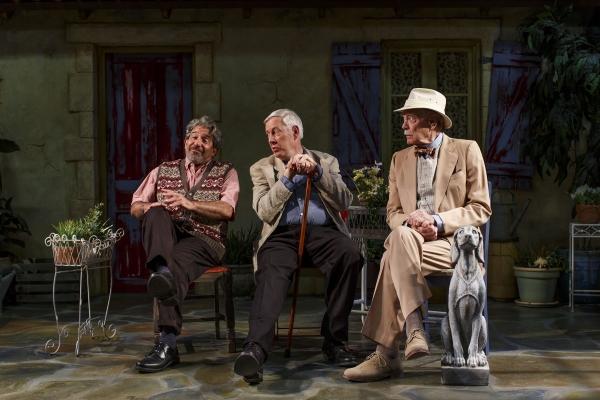 Eric Brooks, Arthur Bicknell and Evan Thompson