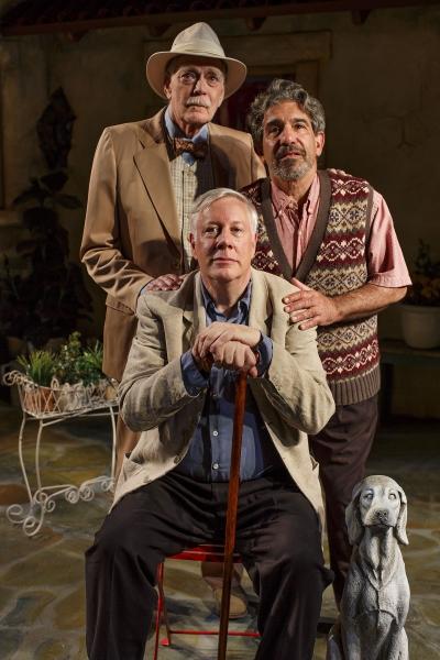 Evan Thompson, Arthur Bicknell, and Eric Brooks