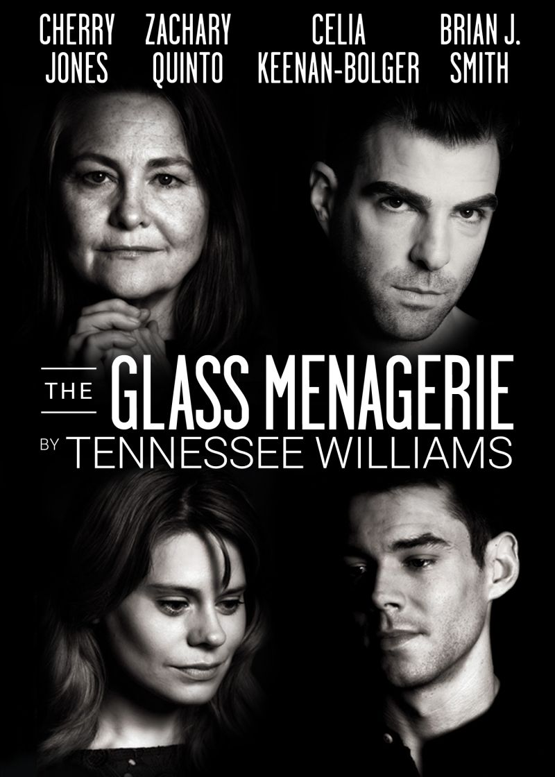 New GLASS MENAGERIE Rehearsal Photos With Quinto & More