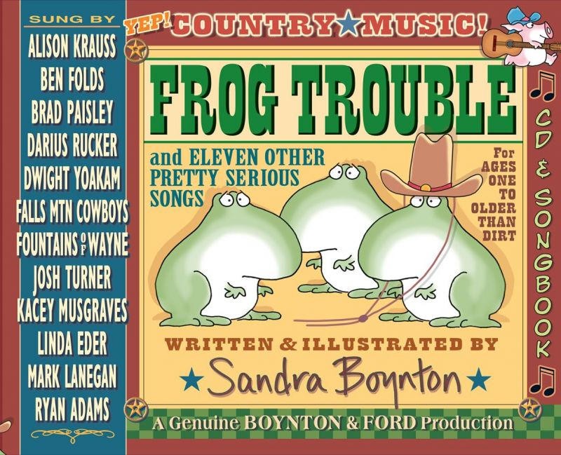 Linda Eder Sings New FROG TROUBLE Track