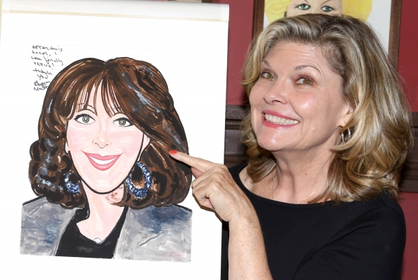 Photo Coverage: PIPPIN's Andrea Martin Unveils Caricature at Sardi's!