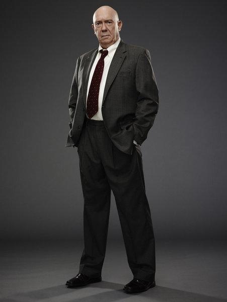 Dann Florek as Captain Donald Cragen -- (Photo by: James Dimmock/NBC)