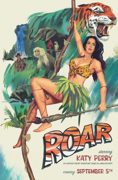 Katy Perry teases ''Roar''.