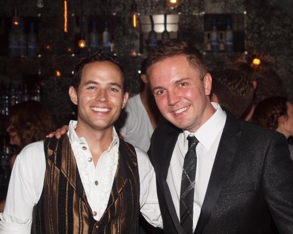 Musical Director Christopher Lloyd Bratten and Producer Shane Scheel Photo