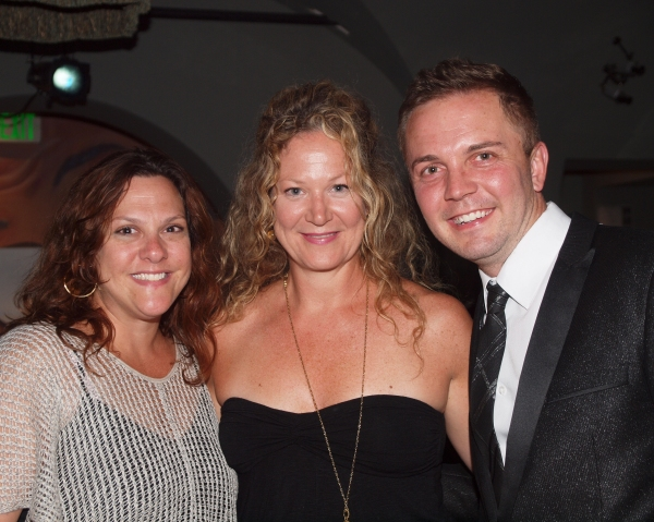 Producers Siobhan O''Neill and Shane Scheel with Alison Spiriti