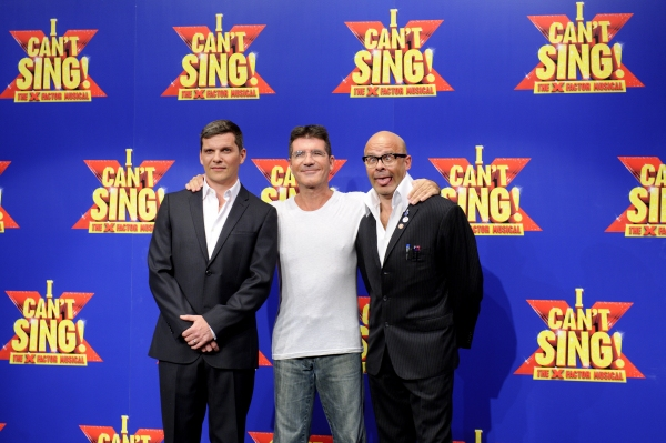 Photo Flash: Simon Cowell and X Factor Musical Leads Meet the Press!