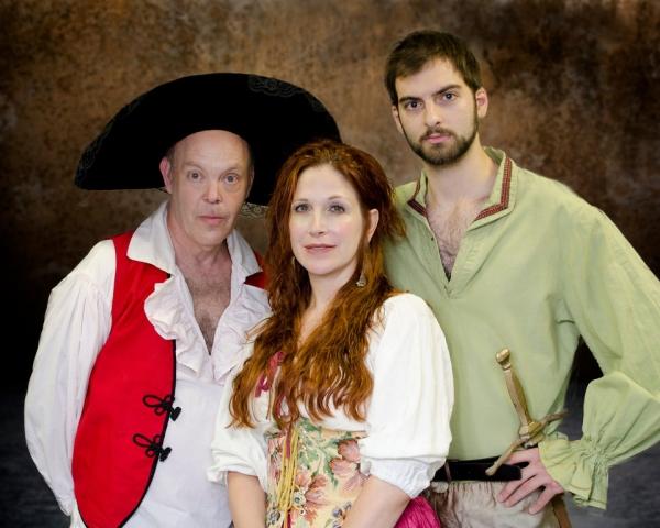Bill Kaufman, Nina Lionetti and Brad Baron