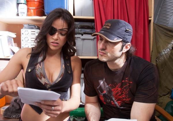 Michelle Rodriguez, Robert Rodriguez