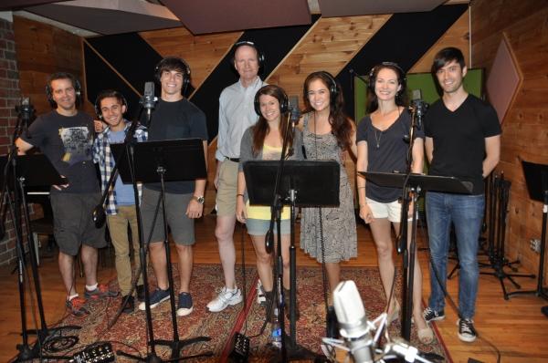Brian Munn, Michael Wartella, Derek Klena, Michael DeVries, Carla Stickler, Emily Mec Photo