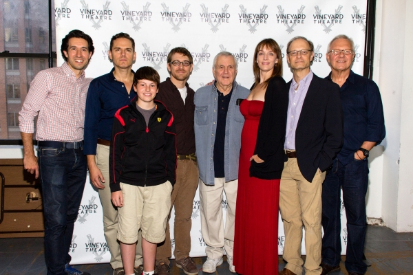 Josh Rhodes, Paul Anthony Stewart, Frankie Seratch, Greg Pierce, John Kander, Julia Murney, David Hyde Pierce, Walter Bobbie
