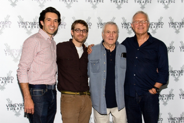 Photo Coverage: David Hyde Pierce, Julia Murney & the Cast of Vineyard Theatre's THE LANDING Meet the Press!