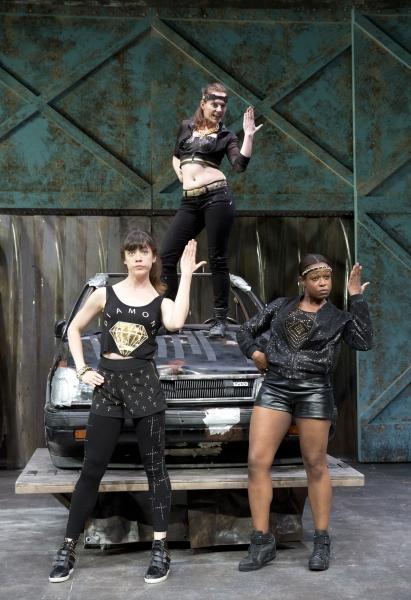 Photo Flash: MR. BURNS Opens Tonight at Playwrights Horizons