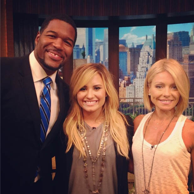 Demi Lovato Talks GLEE On LIVE WITH KELLY & MICHAEL