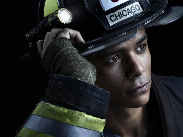 Chicago fire season 2 pictured charlie barnett as for Charlie barnett