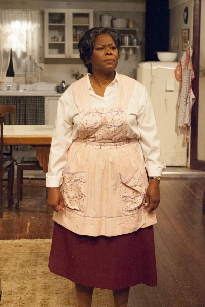 Lena 'Mama' Younger (Greta Oglesby) works to hold her family together and give them a better life.