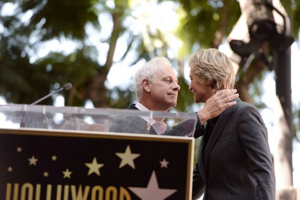 Jane Lynch receives Hollywood Walk of Fame Star